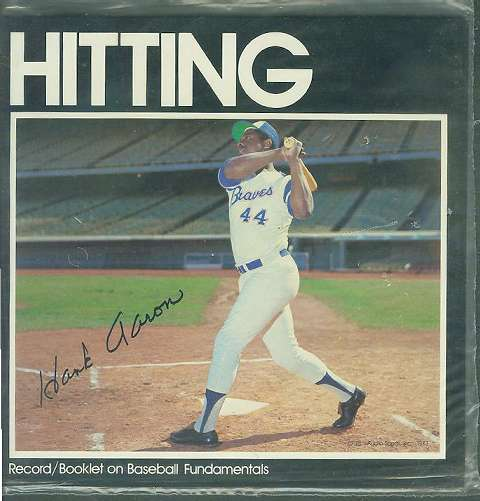 1972 Audio Sports HANK AARON - Record/Booklet (Hitting) (Braves) Baseball cards value