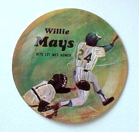 1970's Sports Challenge Record - WILLIE MAYS Baseball cards value
