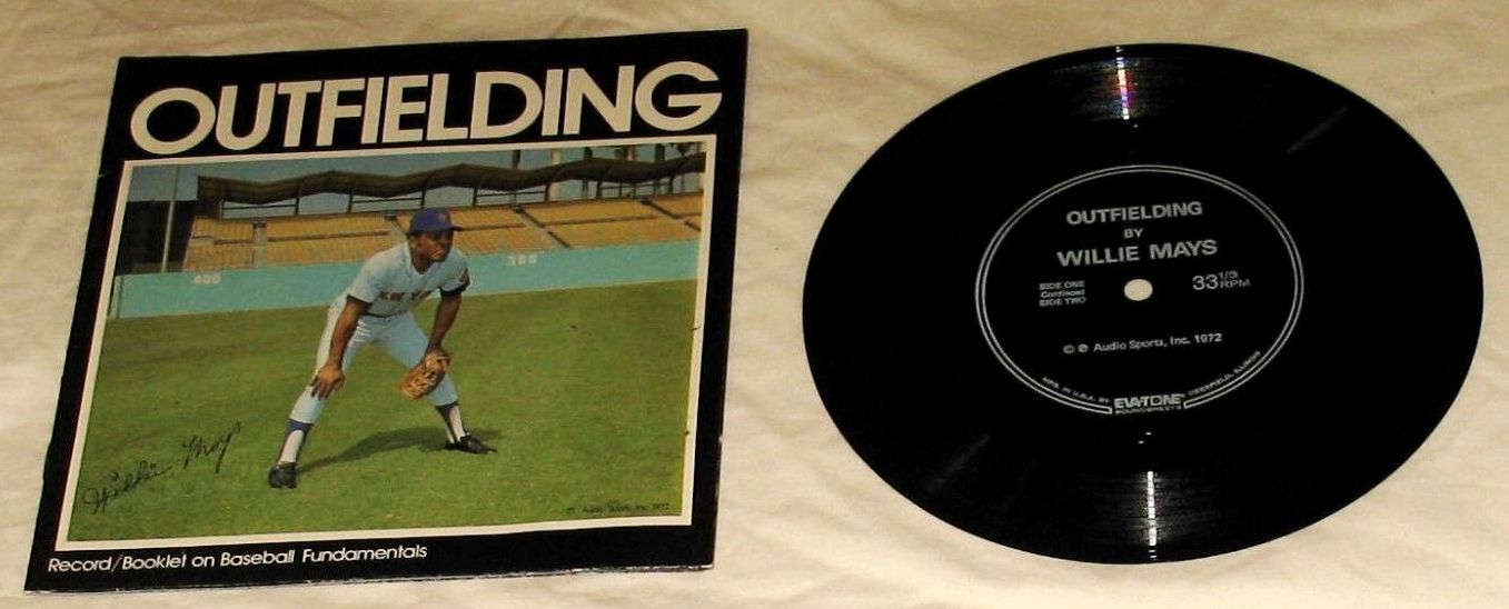 1972 Audio Sports WILLIE MAYS - Record/Booklet (Outfielding) (Mets) Baseball cards value