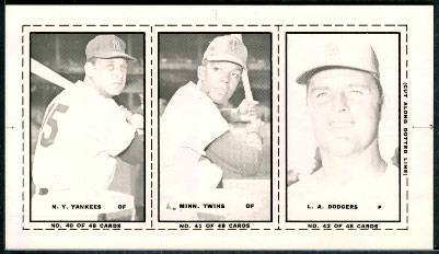 1967 Bazooka PROOF Black/White Mask Negative - DON DRYSDALE Baseball cards value