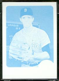 1968 Topps PROOF Black/White #331 Dan Osinski (Red Sox) Baseball cards value