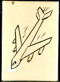 1958 Topps POPEYE ORIGINAL CARTOON ARTWORK #9 Non-Sport cards value