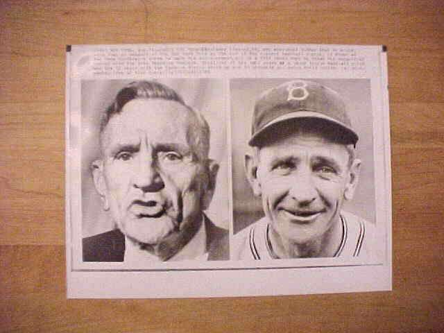 WIREPHOTO: Casey Stengel - {08/31/65} 'Casey The Manager' (Yankees/Mets) Baseball cards value