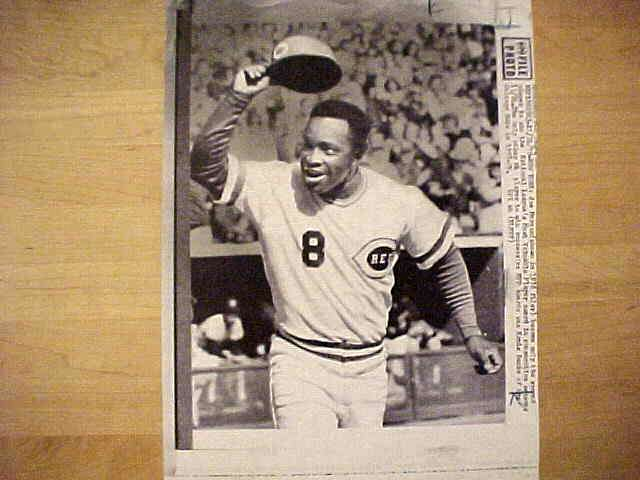 WIREPHOTO: Juan Marichal - {08/22/90} 'A Moment Of Madness' (Giants) Baseball cards value