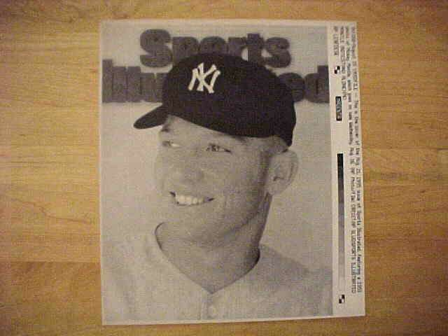 WIREPHOTO: Mickey Mantle - {08/21/95} 'Sports Illustrated' (Yankees) Baseball cards value