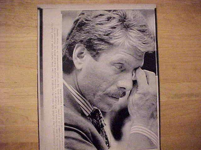 WIREPHOTO: Mike Schmidt - {05/31/89} 'Time For Tears' (Phillies) Baseball cards value