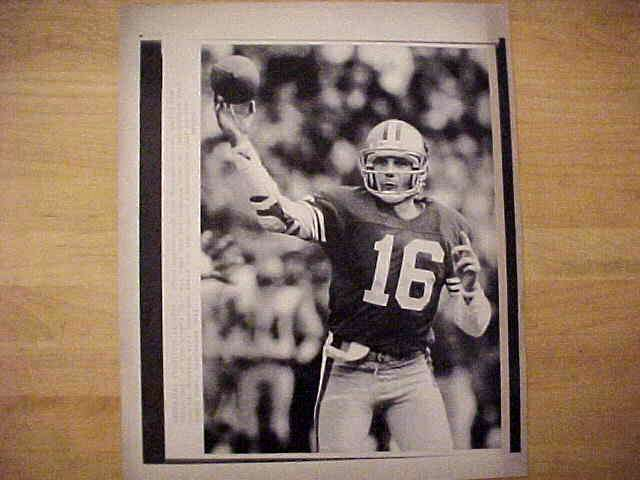 WIREPHOTO: Joe Montana - {01/14/90} 'Headed To The Super Bowl' (49ers) Football cards value
