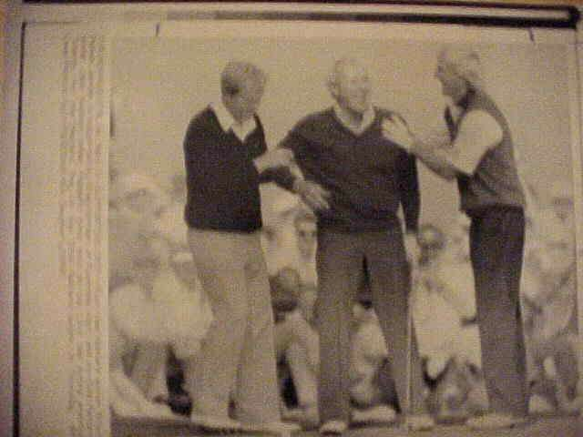 WIREPHOTO {Golf}: Arnold Palmer - {04/03/90} 'Supporting Cast' Golf cards value