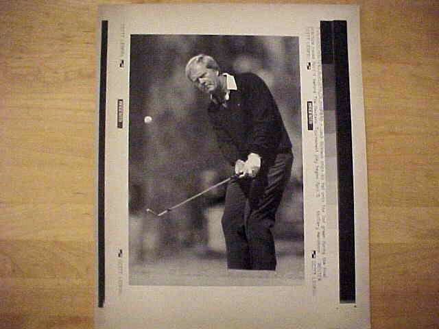 WIREPHOTO {Golf}: Jack Nicklaus - {04/04/90} 'Get There' Golf cards value