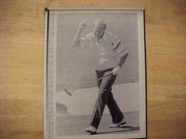 WIREPHOTO {Golf}: Jack Nicklaus - {04/08/90} 'Masters Reaction' Golf cards value