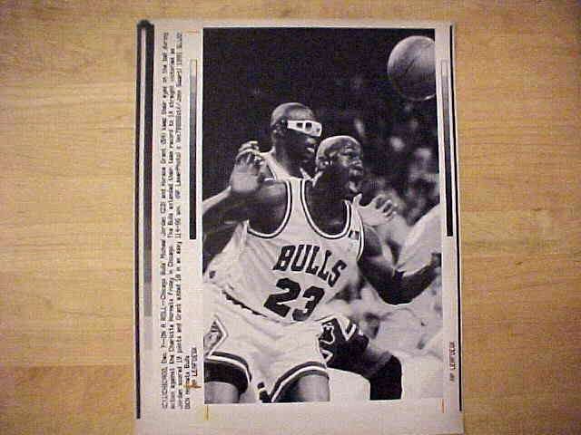 WIREPHOTO: Michael Jordan - {12/07/91} 'On A Roll' (Bulls) Basketball cards value