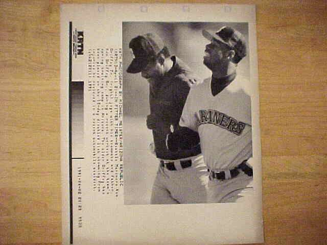 WIREPHOTO: Ken Griffey Jr - {04/02/91} 'In Fitter Times' (Mariners) Baseball cards value