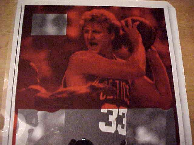 WIREPHOTO: Larry Bird - {02/17/86} 'Under Pressure' (Celtics) Basketball cards value