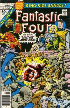 Comic: FANTASTIC FOUR  Annual #13 (1978) Baseball cards value