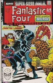 Comic: FANTASTIC FOUR  Annual #21 (1988) Baseball cards value