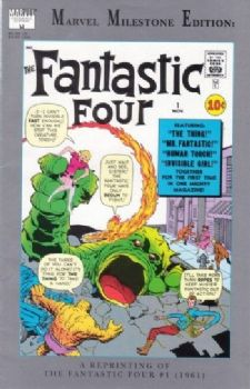 Comic: FANTASTIC FOUR  Marvel Milestone Edition #1 (1991) Baseball cards value