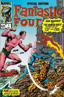 Comic: FANTASTIC FOUR  Special Edition #1 (1984) Baseball cards value