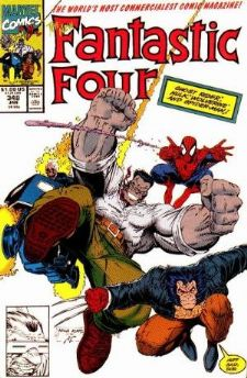Comic: FANTASTIC FOUR #348 (1991) Baseball cards value