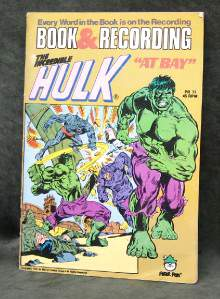 INCREDIBLE HULK RECORD/COMIC SET (1981) (Sealed in origianl wrap!) Baseball cards value
