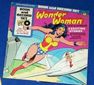WONDER WOMAN RECORD/COMIC SET (1977) (Sealed in original wrap!) Baseball cards value