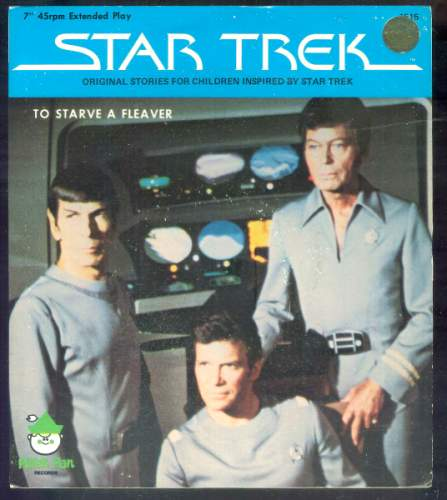 STAR TREK RECORD - 'To Starve a Fleaver' (1979) (In original seal) Baseball cards value