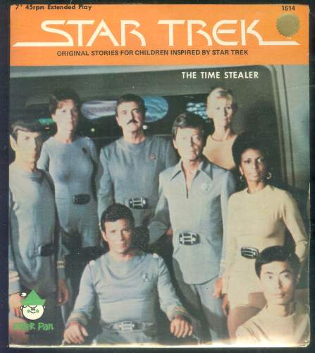 STAR TREK RECORD - 'The Time Stealer' (1979) (In original seal) Baseball cards value