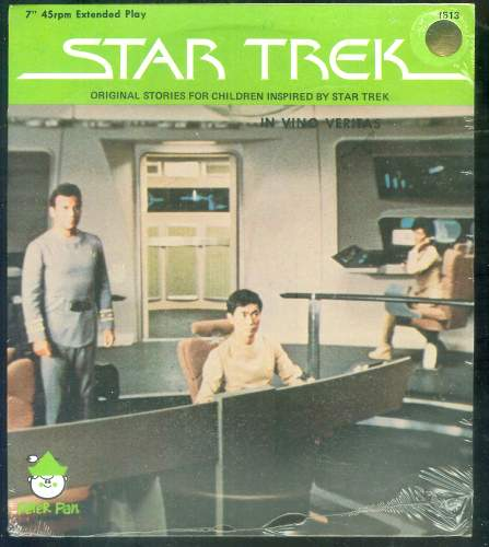 STAR TREK RECORD - 'In Vino Veitas' (1979) (In original seal) Baseball cards value
