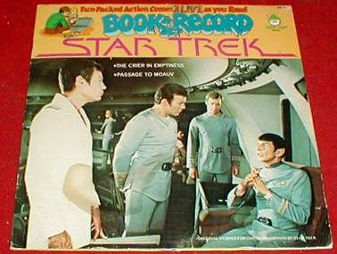 STAR TREK 12 in. RECORD/COMIC SET 'Crier' (1979) (in original wrap!) Baseball cards value