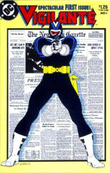 Comic: VIGILANTE #1 Spectacular FIRST ISSUE + #2 (2 issues) (1983) Baseball cards value