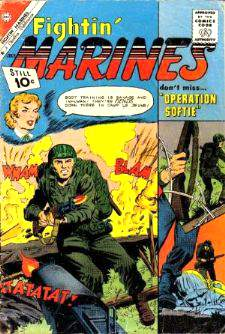 Comic: FIGHTIN' MARINES #42 (1961-10 cents!) (Charlton) Baseball cards value