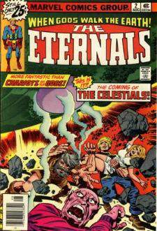 Comic: ETERNALS #.2 (1976) Baseball cards value
