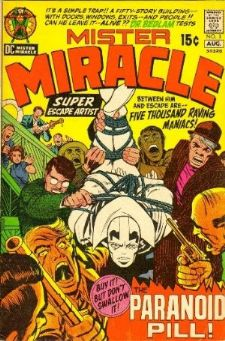Comic: MISTER MIRACLE #3 (1971) Baseball cards value