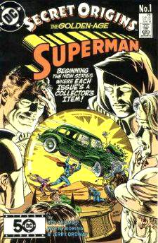 Comic: Secret Origins #.1 - THE GOLDEN-AGE SUPERMAN Baseball cards value