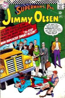 Comic: JIMMY OLSEN Superman's Pal #94 (12 cents!) Baseball cards value