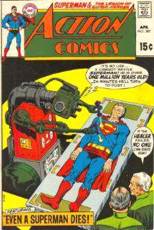 Comic: ACTION COMICS #387 (15 cents!) Baseball cards value