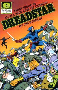 Comic: DREADSTAR - Lot of (8) (1982-1991) Baseball cards value