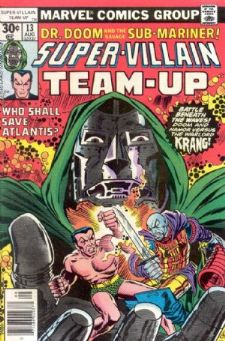 Comic: SUPER-VILLAIN TEAM-UP #13 (1977) Baseball cards value