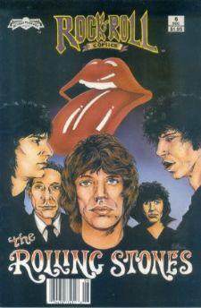 Comic: Rock Roll Comics #.6 ROLLING STONES (Revolutionary Comics,1989) Baseball cards value