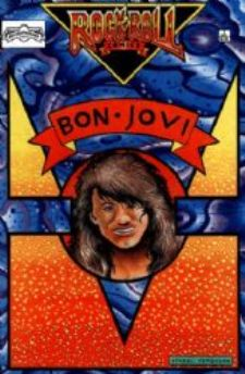 Comic: Rock Roll Comics #.3 BON JOVI (Revolutionary Comics,1990) Baseball cards value