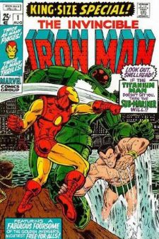 Comic: The Invincible IRON MAN KING-Size Special #1 (1970) Baseball cards value