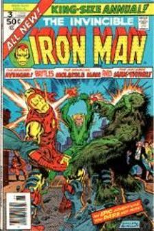 Comic: The Invincible IRON MAN Annual #3 (1976) Baseball cards value