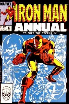 Comic: The Invincible IRON MAN Annual #6 (1983) Baseball cards value