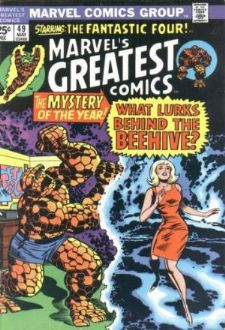 Comic: MARVEL'S GREATEST COMICS #49 (Starring Fantastic Four) (1974) Baseball cards value