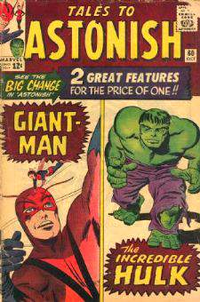 Comic: TALES to ASTONISH #.60 (1964) Baseball cards value