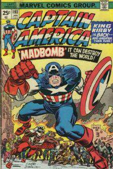 Comic: CAPTAIN AMERICA  and FALCON #193 Baseball cards value