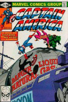 Comic: CAPTAIN AMERICA #252 (Byrne Art) Baseball cards value