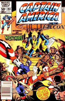Comic: CAPTAIN AMERICA #264 (with the X-MEN and NAZIS !!!) (1981) Baseball cards value