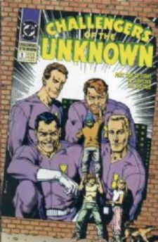 Comic: Challengers of the Unknown PREMIERE ISSUE (1991) Baseball cards value
