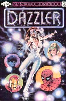 Comic: DAZZLER #1 Premier Issue (1981) Baseball cards value