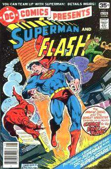 Comic: DC Comics Presents SUPERMAN & Flash #1 (1978) Baseball cards value
